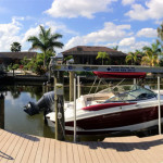 Olivia's House - luxus Ferienhaus in SW Cape Coral, Florida, Dock & Boot