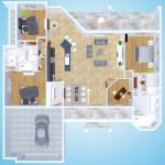 Olivias House - Cape Coral Ferienvillas Plan